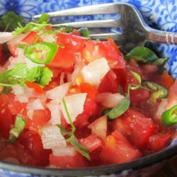 Cachumbar (Tomato, Onion and Ginger Salad)