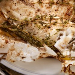 Ginger/Garlic Fish in Parchment