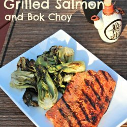 Asian Flavored Grilled Salmon