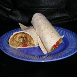 Tikka Masala Chicken & Capsicum Wraps recipe