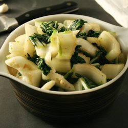 Stir-Fried Bok Choy With Ginger and Garlic
