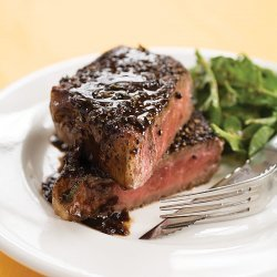 Steaks With Worcestershire Sauce