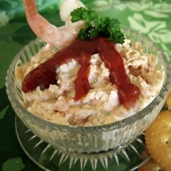 No-Brainer Shrimp Spread
