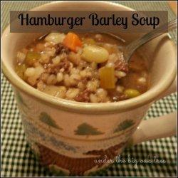 Hamburger Barley Soup