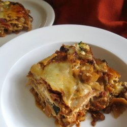 Roasted Vegetable Lasagna  (Vegetarian)