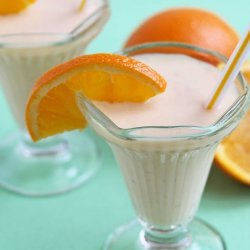 Orange-Yogurt Shake