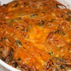 Spinach Cheese Kugel