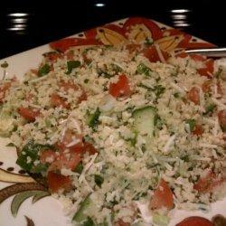Vegetable Couscous Salad With Parmesan