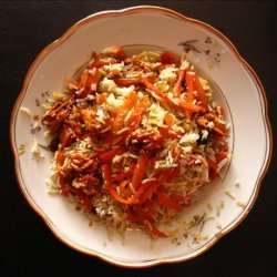 Pelow Shirin - Festive Persian Rice Dish recipe