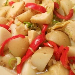 Artichoke, Red Pepper & Potato Salad