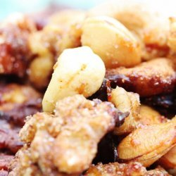 Spicy and Sweet Holiday Nuts