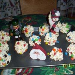 Holiday M&m's Popcorn Balls recipe