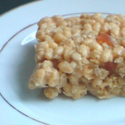 Fruity Rice Krispie Treats / Squares - Kids No Bake