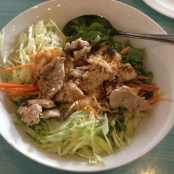 Lime and Chicken Noodle Salad