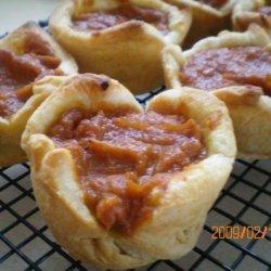 Peanut Butter Pumpkin Pies