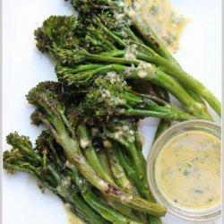 Broccolini With Garlic Sauce
