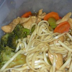 Chicken Teriyaki  With Noodles