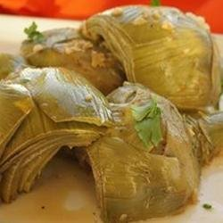 Garlic Sauteed Artichokes recipe