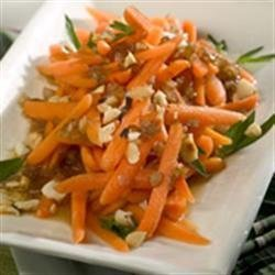 Spectacular Marsala Glazed Carrots with Hazelnuts