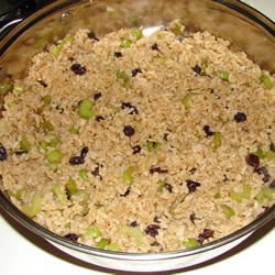 Raisin and Spice Brown Rice