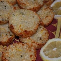 Lemon and Herb Risotto Cake recipe