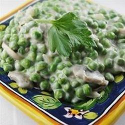 Creamy Mushroom Peas recipe