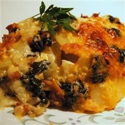 Spinach Potatoes recipe
