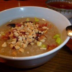 Jook (Chinese Breakfast Rice Soup) recipe