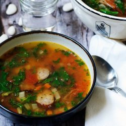 Kielbasa and Butter Bean Soup