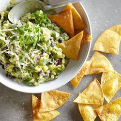 Pineapple-Black Bean Guacamole