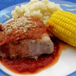 Pork Chops With Lemony Bread Crumbs