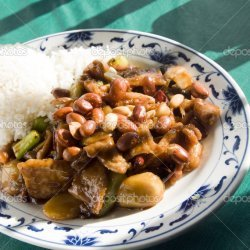 Pork in Hot Peanut Sauce
