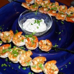 Broiled  Shrimp With Herbed Mayonnaise