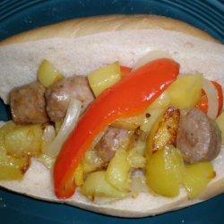 Boston Sausage Grinder (Or Submarine Sandwich)