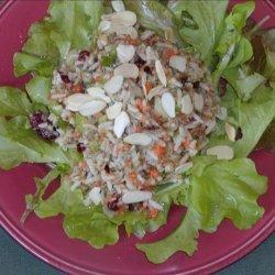 Oriental Bulgur Rice Salad
