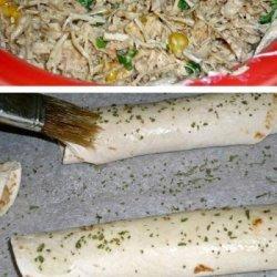 Chicken Tortilla Rollups