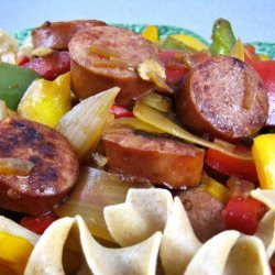 Savory Sausage and Peppers