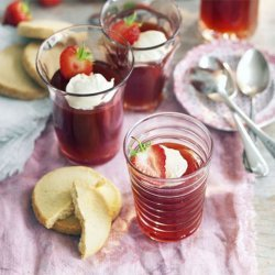 Pimm's and Strawberry Jellies