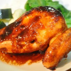 Glazed Ginger-Soy Chicken