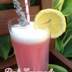 Pink Lavender Lemonade