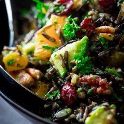 Cranberry Wild Rice Salad