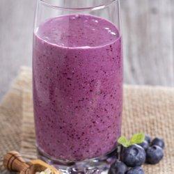 High-Protein Blueberry Smoothie
