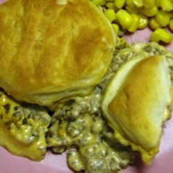 Easy Hamburger and Biscuit Bake