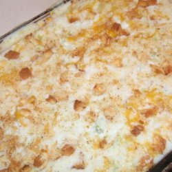 Baked Potato Stuffing recipe