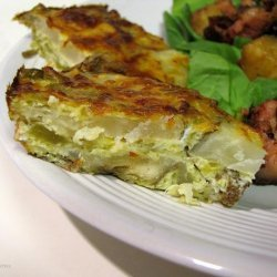 Green Chile Potato Tart