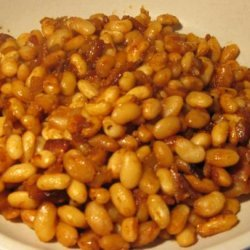Bacon and Molasses Beans
