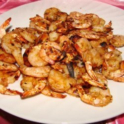 Shrimp With Asian Barbecue Sauce