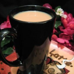 African Haze Tea Latte recipe