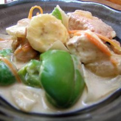 Thai Fish Curry - Kaeng Ped Pla / or Tofu recipe
