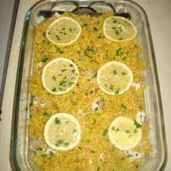 Lemon Butter Curry Catfish
